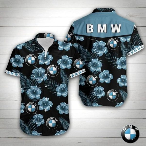 Bmw Car Hawaiian Shirt