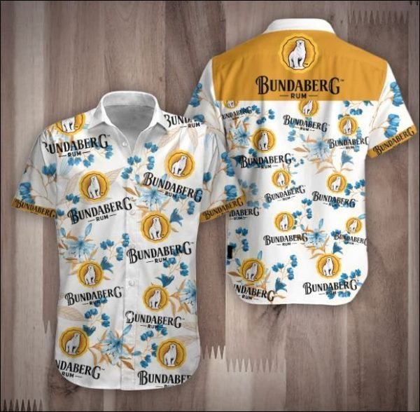 Rum Bundaberg Hawaiian Shirt