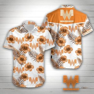 Whataburger Hawaiian Shirt