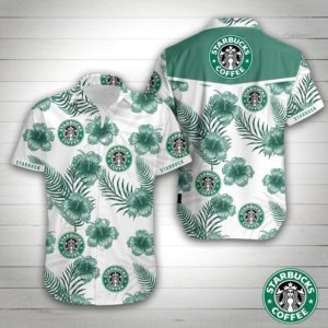 Starbucks Coffee Hawaiian Shirt
