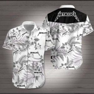Metallica Hawaiian 3d Shirt