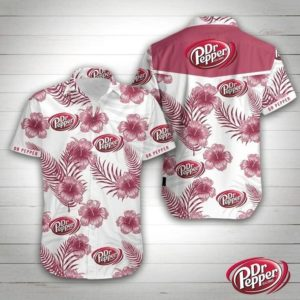 Dr Pepper Hawaiian Shirt