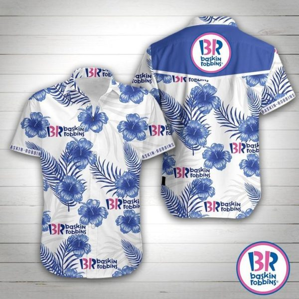 Baskin Robbins Hawaiian Shirt