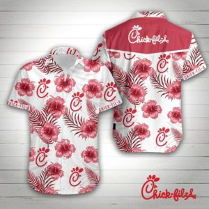 Chick-Fil-A Hawaiian Shirt