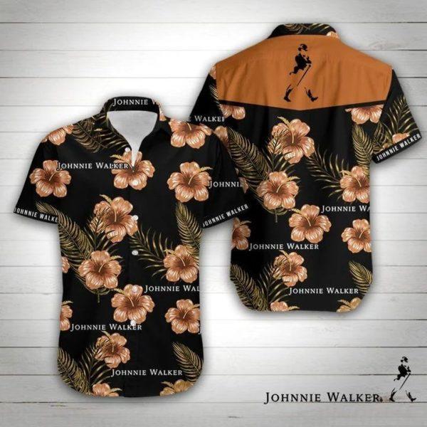 Johnnie Walker Hawaiian Shirt