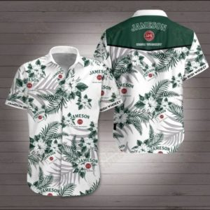 Jameson Irish Whiskey Hawaiian Shirt