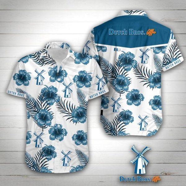 Dutch Bros Hawaiian Shirt