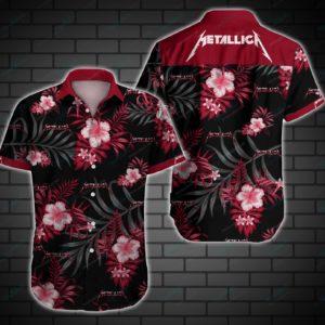 Metallica Style 2 Hawaiian Shirt