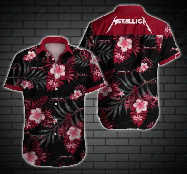Metallica Style 2 Hawaiian Shirt