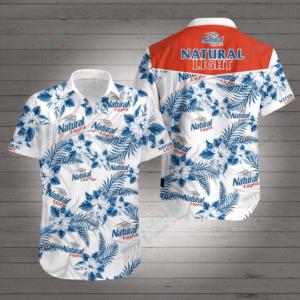 Natural Light Style 2 Hawaiian Shirt