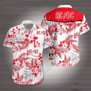 Ac/Dc Style 2 Hawaiian Shirt