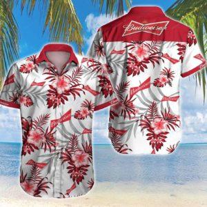Budweiser Style 2 Hawaiian Shirt