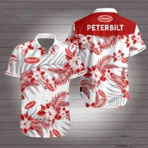 Peterbilt Hawaiian Shirt