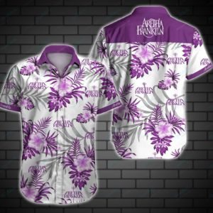 Aretha Franklin Hawaiian Shirt