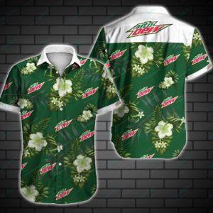 Mountain Dew Hawaiian Shirt