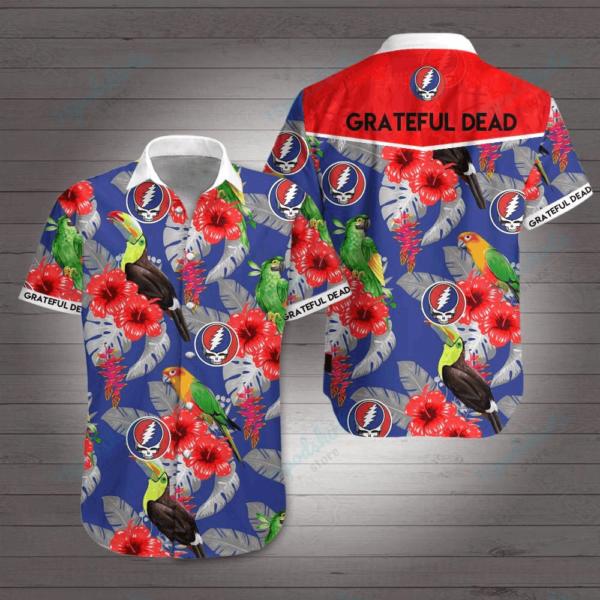 Grateful Dead Style 2 Hawaiian Shirt