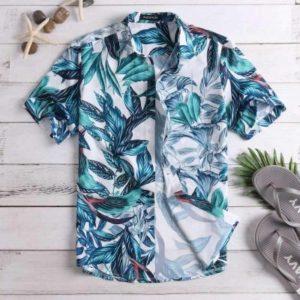 2020 Hot Tropical Leaf Vintage Hawaiian Shirts