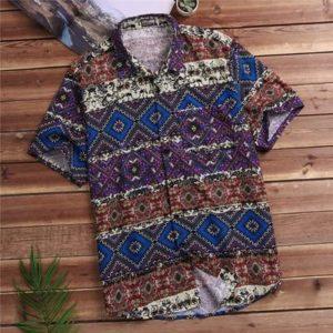 2020 Hot Tropical Summer Vintage Hawaiian Shirt 100 Cotton