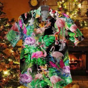 Gettyshirt   Tropical 2911 Bl Vintage Cotton Mens Hawaiian Shirt