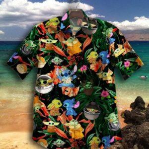 Gettyshirt  Hot Tropical Vintage Stitch Cotton Mens Hawaiian Shirt