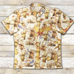 Gettyshirt Miller Lite Ad1225 Vintage Cotton Mens Hawaiian Shirt