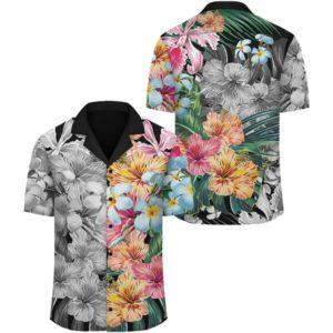 Hawaii Forest Tropical Flower Hawaiian Shirt