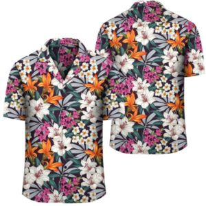 Hawaii Seamless Exotic Pattern With Tropical Leaves Flowers Hawaiian Shirt