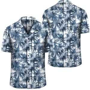 Hawaii Palm Trees And Tropical Branches Hawaiian Shirt