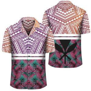 Hawaii Summer Tropical Polynesian Kanaka Hawaiian Shirt
