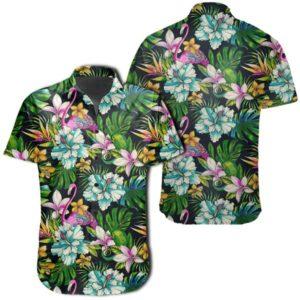 Hawaiian Shirt ? Animals And Tropical Flowers Shirt