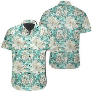 Tropical Blue Hawaiian Shirt