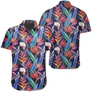 Tropical Flower Hawaiian Shirt