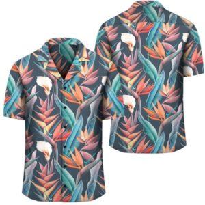 Hawaii Seamless Tropical Flower Hawaiian Summer Hawaiian Shirt