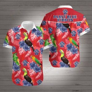 Pabst Blue Ribbon Hawaii Shirt