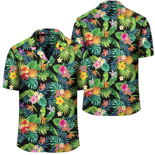 Flower Hawaiian Shirt