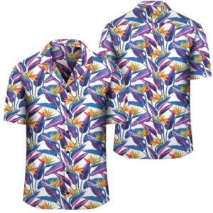 Tropical Strelitzia Hawaiian Shirt