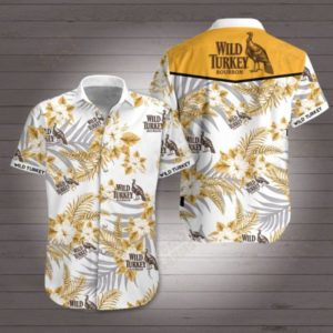 Wild Turkey Bourbon Hawaiian Shirt