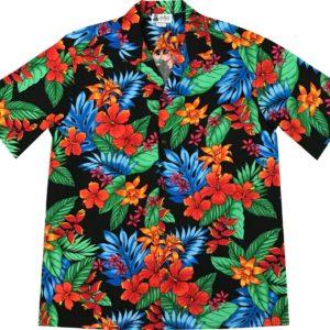 Tropical Flowers Men Hawaiian Shirt