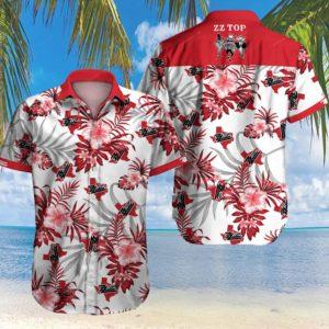 Zz Top American Rock Band Hawaiian Shirt