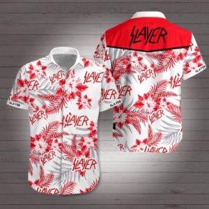 Slayer Band Hawaiian Shirt Style 1