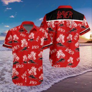 Slayer Band Hawaiian Shirt Style 2