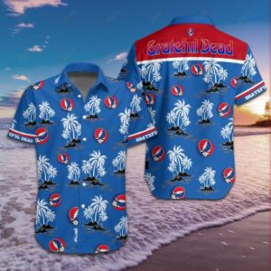 Rock Band Grateful Dead Hawaiian Shirt Style 2
