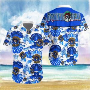 Rock Band Grateful Dead Hawaiian Shirt Style 3