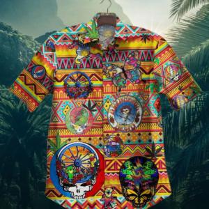 Rock Band Grateful Dead Hawaiian Shirt Style 4