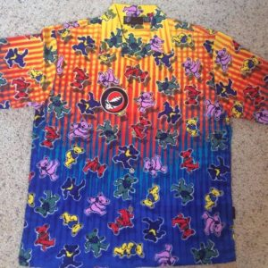 Rock Band Grateful Dead Hawaiian Shirt Style 5