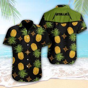 Metallica Band Hawaiian Shirt Style 1