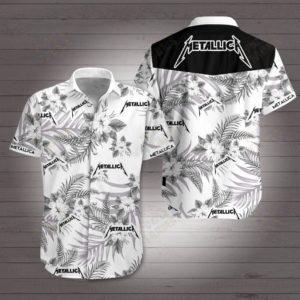 Metallic Band Hawaiian Shirt Style 2