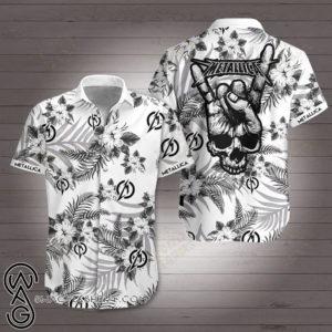 Metallic Band Hawaiian Shirt Style 3