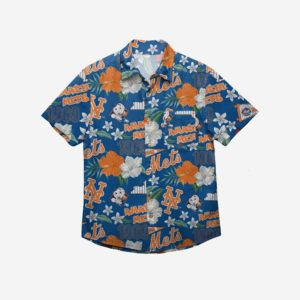 New York Mets City Style Button Up Shirt