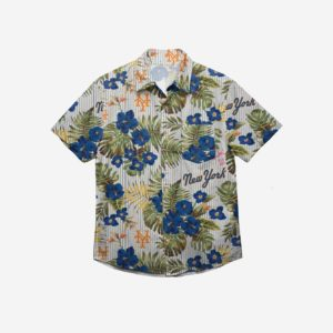 New York Mets Throwback Threads Button Up Shirt